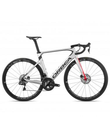 Bicicleta Orbea Orca Aero M20 iTeam-Disc 2020 Plata