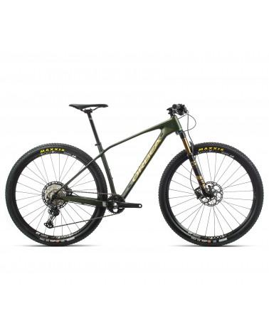 Bicicleta Orbea Alma M25 2020 Verde/Oro Mate Upgrade Terrabike