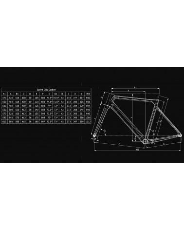 Bicicleta Bianchi Sprint 105 Disc 2020