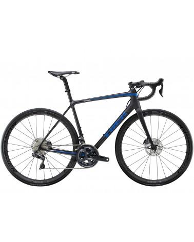 Bicicleta Trek Emonda SL7 Disc Ultegra Di2 2020 Matte Black/Gloss Blue
