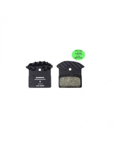 Pastillas disco Shimano XTR-XT-SLX M9000-M8000-987-785 refrigeradas resina J03A