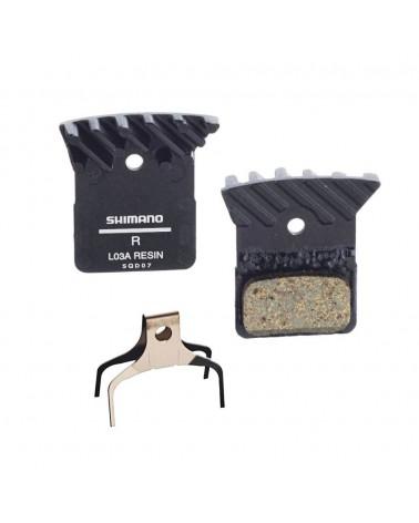Pastillas disco Shimano R7000/RS805 L03A Refrigeradas Resina