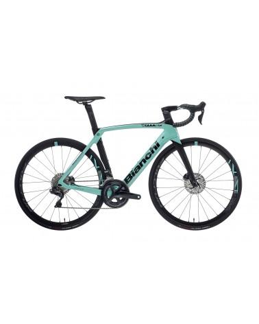 Bicicleta Bianchi Oltre XR4 Disc Ultegra Di2 2020