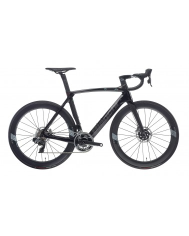 Bicicleta Bianchi Oltre XR4 Disc Red eTap AXS 2020 Negro