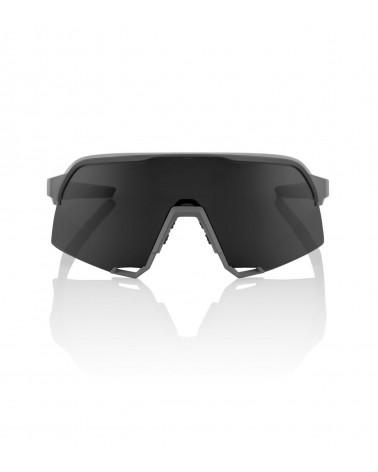 Gafas 100% S3 Soft Tact Gray - Lente Smoke