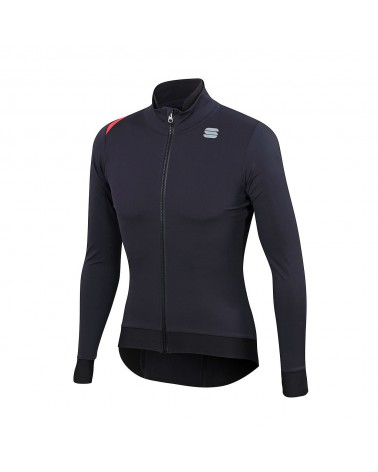 Chaqueta Sportful Fiandre Pro Medium Black/Antharcite
