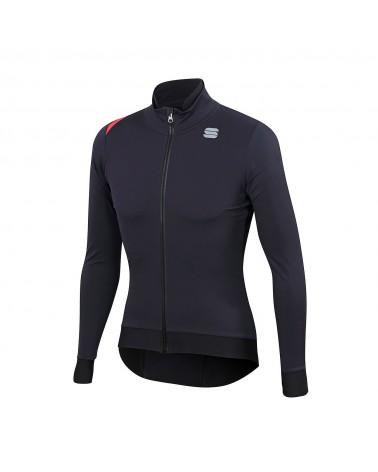 Chaqueta Sportful Fiandre Pro Medium Black/Antharcite