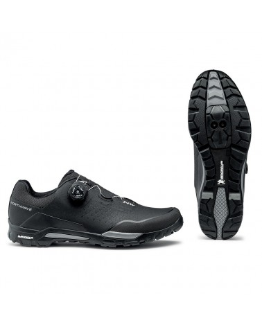 Zapatillas Mtb Northwave X-Trail Plus Negro