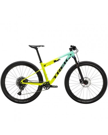 Bicicleta Trek Supercaliber 9.7 NX Miami Green to Volt Fade