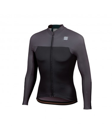 Maillot Sportful Bodyfit ProThermal Black/Anthracite