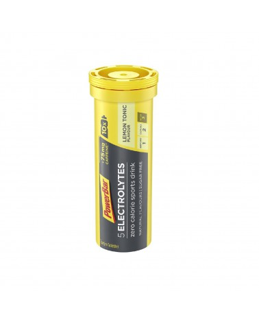 Isótonico Powerbar 5 electrolytes Lemon Tonic+Cafeina