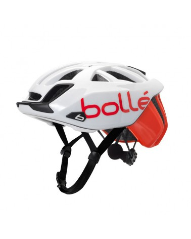Casco Bollé The One Base Blanco/Rojo