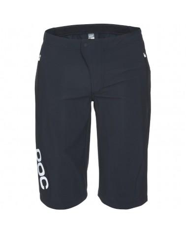 Pantalones Cortos Baggy Poc Essential Enduro Uranium Black