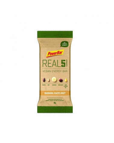 Barrita Powerbar Natural Energy Vegan Real 5 Banana Hazelnut 65 g