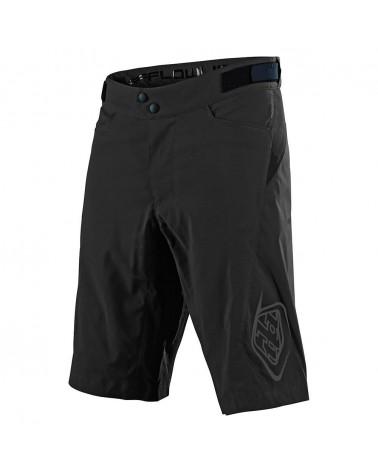Pantalones Cortos Baggy Troy Lee Designs Flowline Short Sin Badana Solid Black
