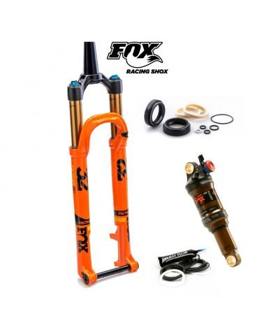 Pack Mantenimiento Amortiguador y Horquilla Fox 32mm Retenes Fox Original