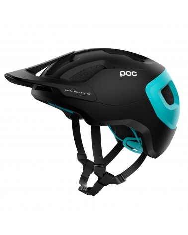 Casco Poc Axion Spin uranium black/kalkopyrit blue Matt