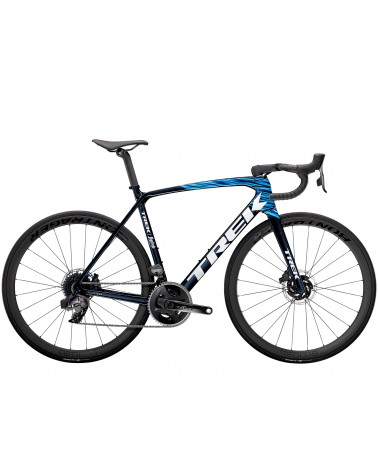 Bicicleta Trek Émonda SLR 7 eTap 2021 Navy Carbon Smoke/Blue
