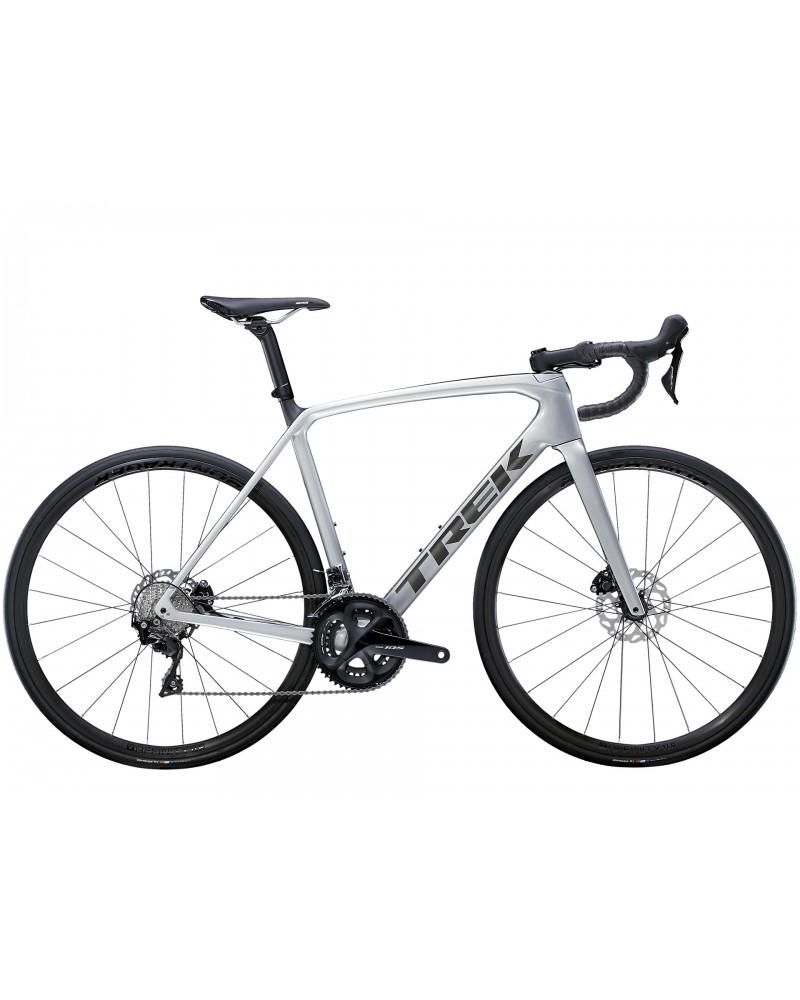 Bicicleta Trek Émonda SL 5 2021 Quicksilver/Brushed Chrome