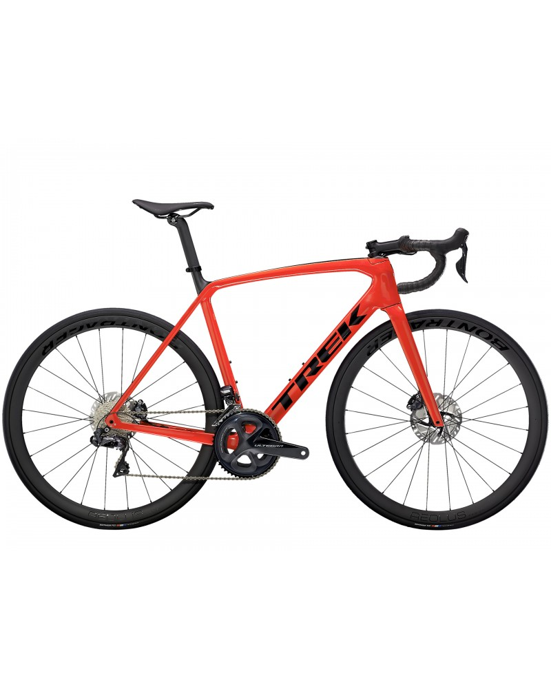 Bicicleta Trek Émonda SL 7 2021 Gloss Radioactive Red/Matte Carbon