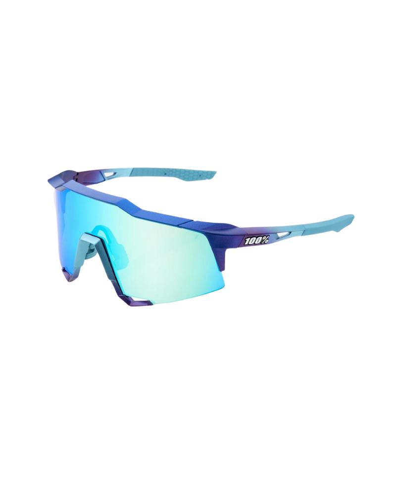 Gafas 100% Speedcraft Matte Metallic Into the Fade- Blue Topaz  Lente Multilayer Mirror Lens