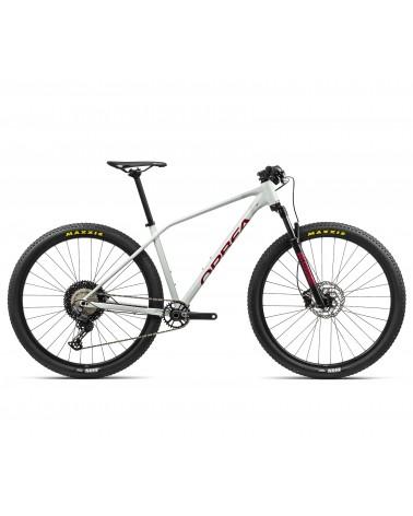 Bicicleta Orbea Alma H30 2021 Blanco/Rojo