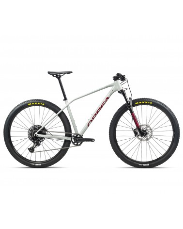 Bicicleta Orbea Alma H10 Eagle 2021 Blanco/Rojo