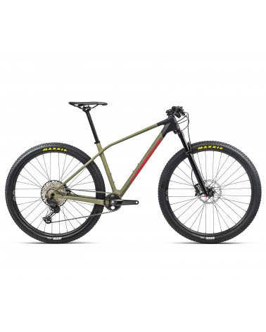 Bicicleta Orbea Alma M30 2021 Verde/Rojo