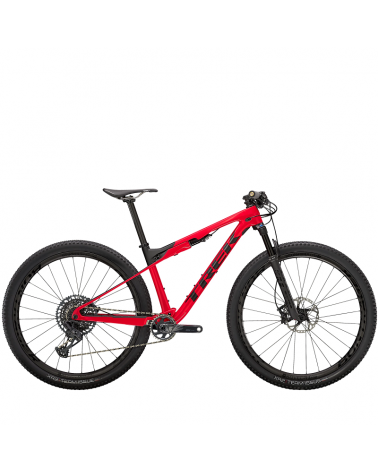 BicicletaTrek Supercaliber 9.8 GX Gloss Radioactive Red/Matte Black