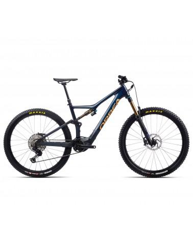 Bicicleta Orbea Rise M10 Azul/Red Gold