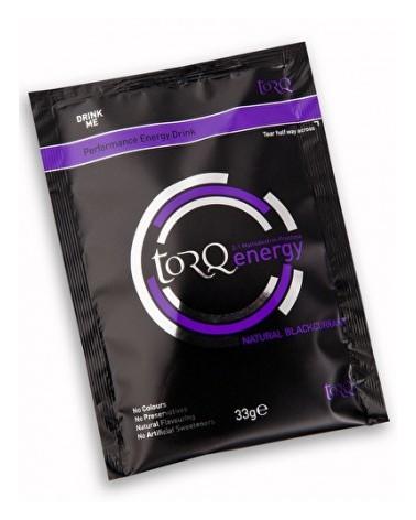 Bebida energética en polvo Torq grosella sobre 33 gr.