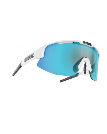 Gafas Bliz Matrix M11 Shiny White Smoke w blue multi