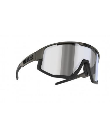 Gafas Bliz Fusion Camo green Smoke w silver mirror