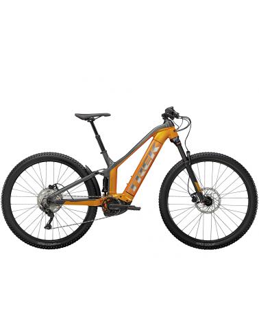 Bicicleta Trek Powerfly FS 4 2021 Factory Orange/Lithium Grey