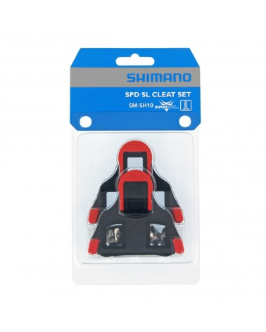 Calas Shimano SPD-SL SM-SH10 Rojo 0 Grados