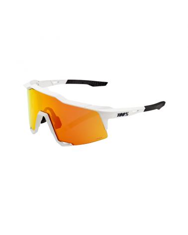 Gafas 100% Speedcraft Off White Hiper Red Multilayer Mirror
