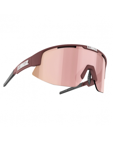 Gafas Bliz Matrix Small Burgundy Brown w rose multi