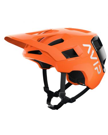 Casco Poc Kortal Race Mips Fluorescent orange avip/uranium black matt