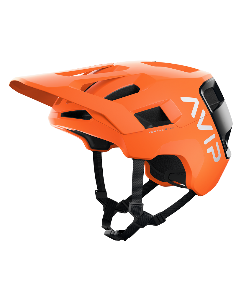 Casco Poc Kortal Race Mips Fluorescent orange avip/uranium black matt