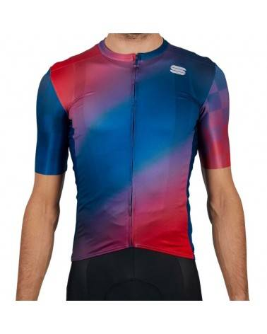 Maillot Sportful Rocket Blue Red