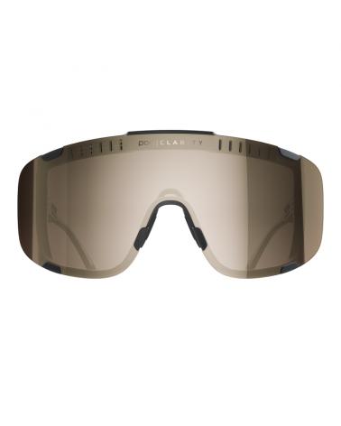 Gafas Poc Devour Uranium Black Lent Silver Mirror
