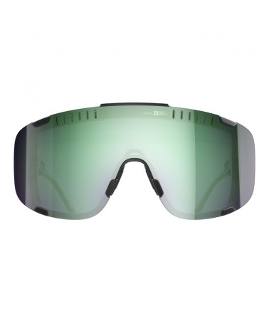 Gafas Poc Devour Uranium Black Translucent Lens Deep Green Mirror