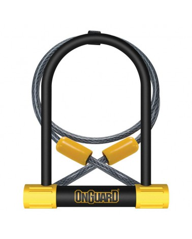 Candado Horquilla Onguard Bulldog 115x230mm + cable