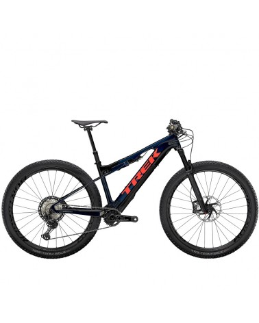Bicicleta Trek E-Caliber 9.8 2021 Blue Smoke/ Radioactive Coral