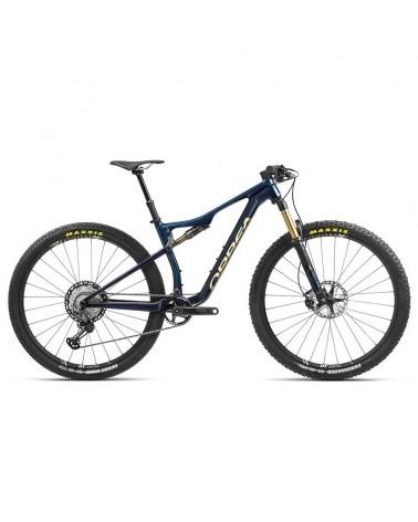 Bicicleta Orbea oiz M PRO TR 2021 Azul/Oro (Manillar Alu)