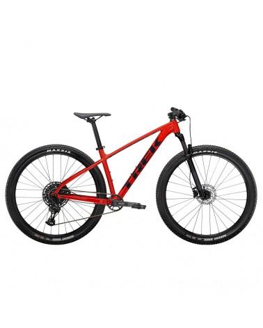 Bicicleta Trek Marlin 8 2022 Gloss Radioactive Red / Nautical