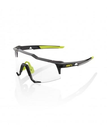 Gafas 100% Speedcraft Gloss Black Photochromic Lens