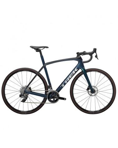Bicicleta Trek Domane SL 6 2022 eTap Satin Dark Aquatic/Satin Trek Black