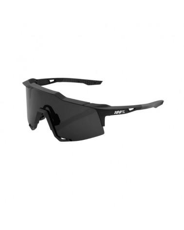 Gafas 100% Speedcraft Soft Tact Black Smoke Lens