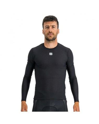 Camiseta Interior Sportful Bodyfit Pro Manga Larga Negro